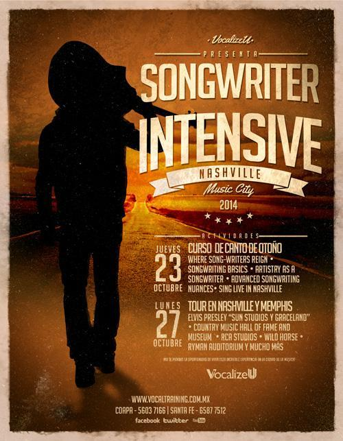 Clases de Canto - VocalizeU Songwriter Intensive