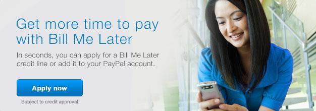 Clases de Canto - Bill me later Paypal