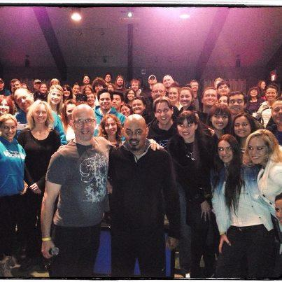 VocalizeU Winter Retreat 2013 James ingram