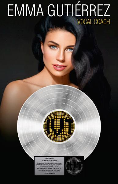 Vocal Coach CP Disco de Platino