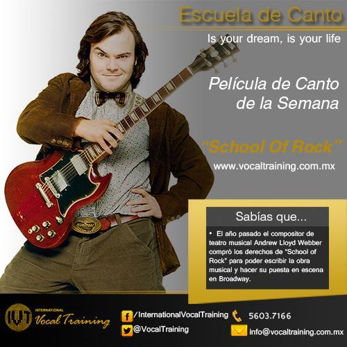 Clases de Canto - School of Rock
